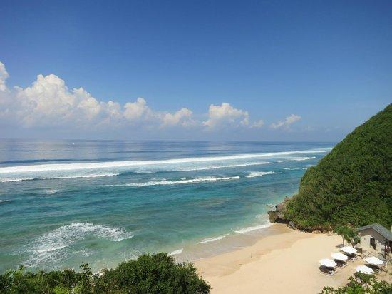 Banyan Tree Ungasan, Bali : Private beach