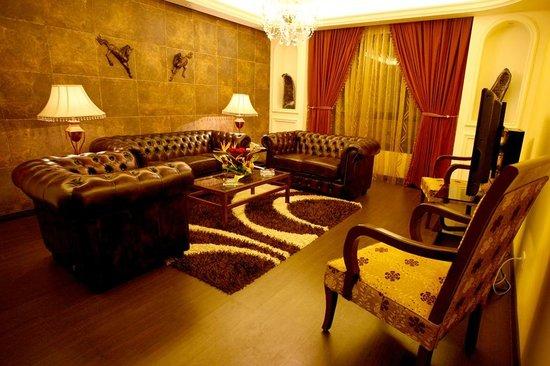 Markazia Suites: 1 Bedroom Suite Living Room