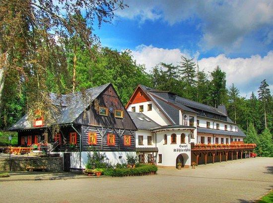Hotel und Restaurant Köhlerhütte: Ruhig direkt im Waldgelegen