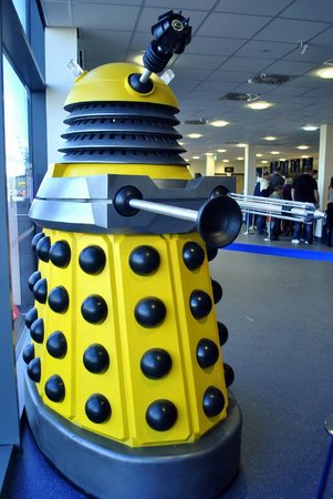 wall art - Don\'t Blink! - Picture of Doctor Who Experience Cardiff ...