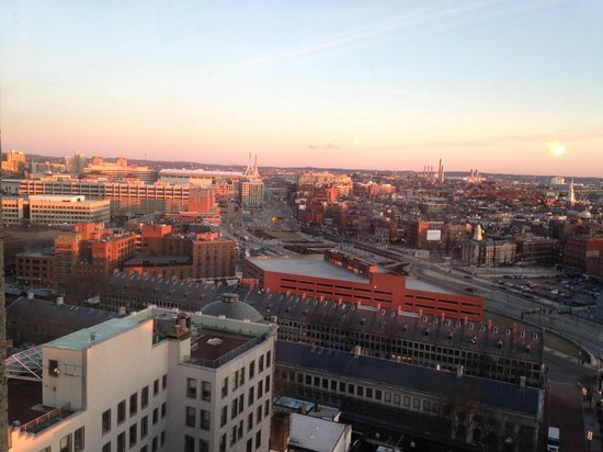 Marriott Vacation Club Pulse at Custom House, Boston: View from my room at dawn