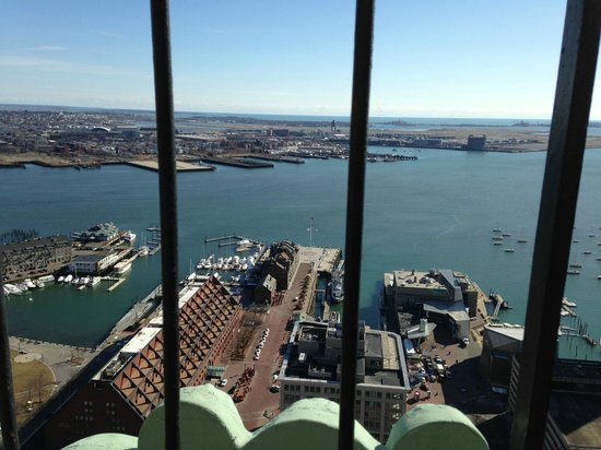 Marriott Vacation Club Pulse at Custom House, Boston: View from observation deck