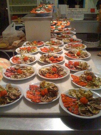 Mamma Mia: Grill vegetables