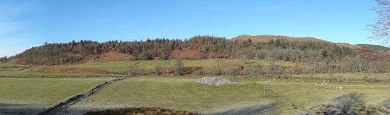Kilmartin Museum Cafe: View from the Cafe