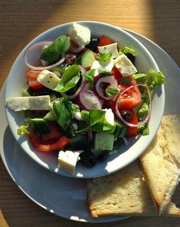 Kilmartin Museum Cafe: Greek Salad