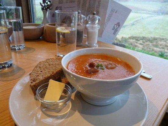 Kilmartin Museum Cafe: Delicious Soup