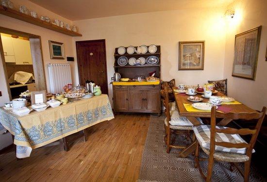 La Casa di Zeno: sala colazione