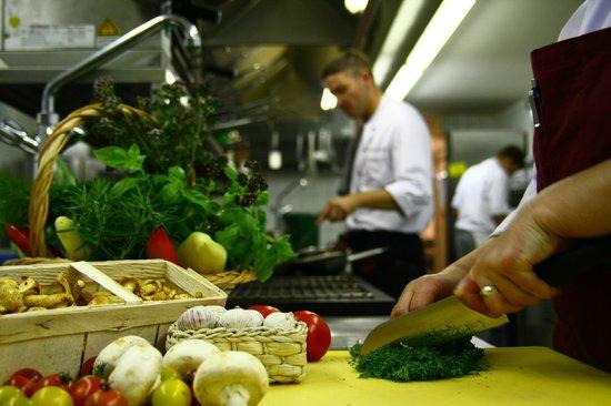 Hotel und Restaurant Köhlerhütte: Alle Speisen werden frisch zubereitet