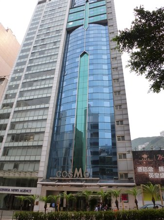 Cosmopolitan Hotel Hong Kong (to be renamed Dorsett Wanchai, Hong Kong in Oct 2016): Hotel frontage