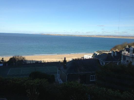 St. Ives Harbour Hotel & Spa: View from the room