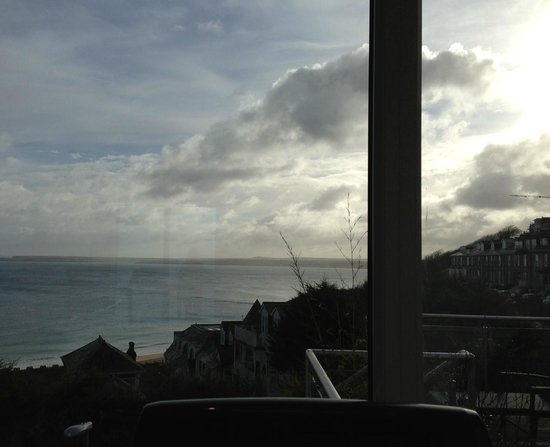 St. Ives Harbour Hotel & Spa: View from the Gym