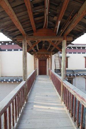 Songtsam Shangri-la (Lugu) Hotel: 酒店一角