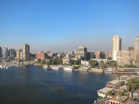 Sofitel Cairo El Gezirah: View from the oom 918
