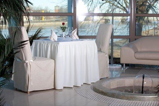 Libava Hotel: Winter garden