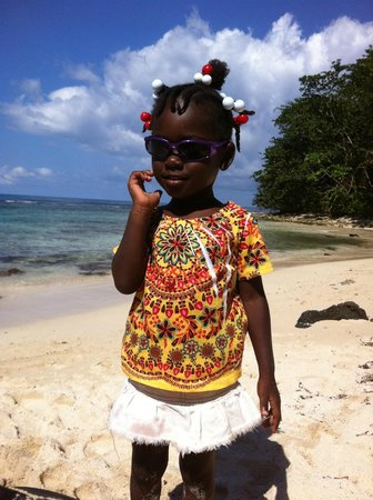 Zion Country Beach Cabins: Jamaican Girl