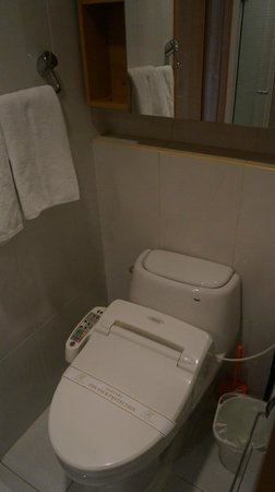 Brown Suites Residence: Toilet Bowl using Japanese Technology, brilliant!