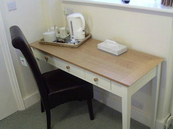 The Swiss Cottage: Desk Space