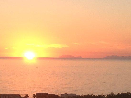 L'Ancora : tramonto