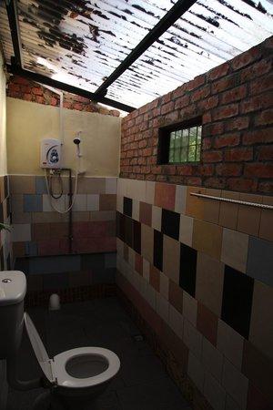 Tropicana Lodge: Bathroom full of mosquitos
