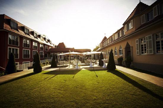 Waldhotel Stuttgart: Terrasse