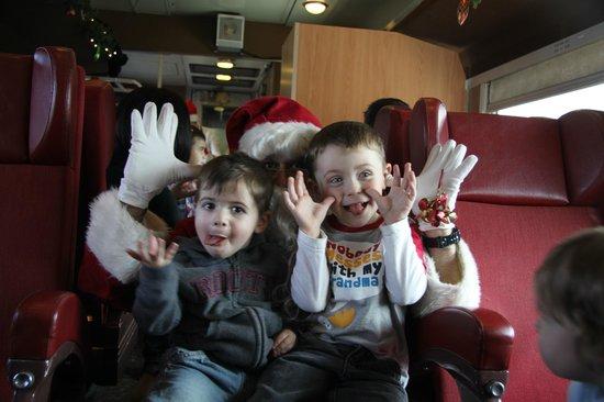 Credit Valley Explorer: Santa having fun