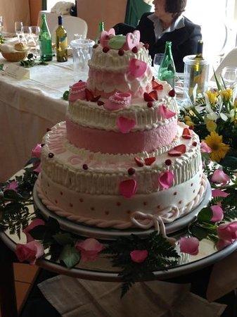 Parc Hotel Ariston & Palazzo Santa Caterina: torta battesimo