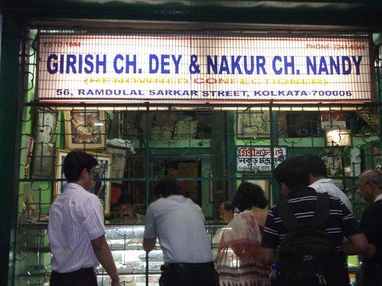 Girish Chandra Dey & Nakur Chandra Nandy: Photo of the shop