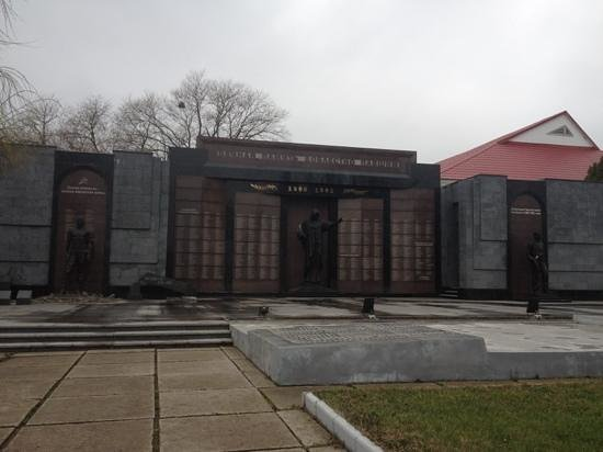 Transnistria, Moldova: tiraspol memorial for Afghanistan war