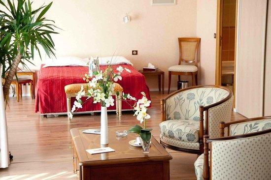 Hotel Le Diana : Junior Suite vue Latérale Mer