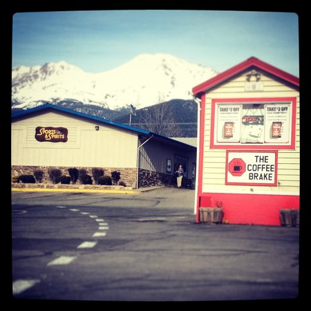 The Coffee Brake: The Best Coffee in Mt Shasta, Ca