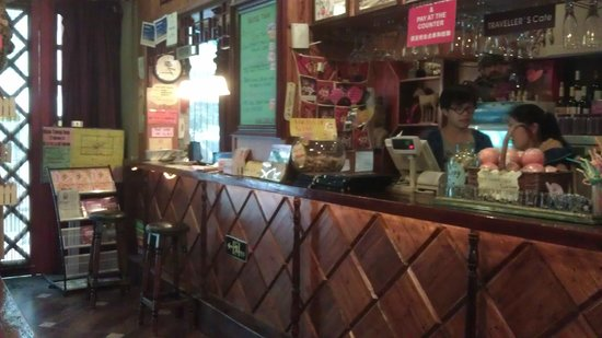 Hantangyi International Youth Hostel Xi'an: bar and reception