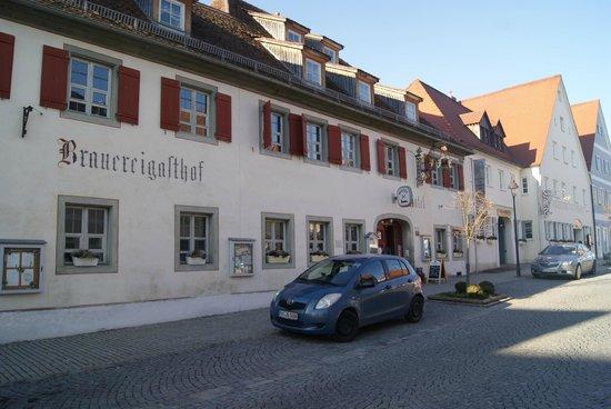 Brauereigasthof zum Schwarzen Ross: schöner Denkmalgeschützter Brauereigasthof