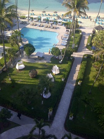 British Colonial Hilton Nassau: View from the executive lounge