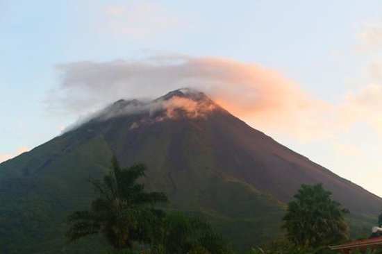 Los Lagos Hotel Spa & Resort: View of Volcano from room 232