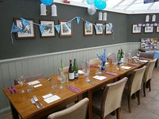 Dining at The Sea Trout Inn: The Top Table
