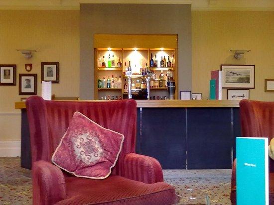 Aldwark Manor Golf & Spa Hotel: squadron bar (2012)