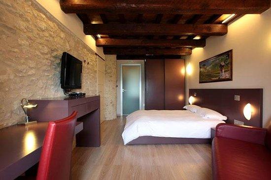 Taverna Castelluccio: Camera in Cascina con panoramica Pian Grande