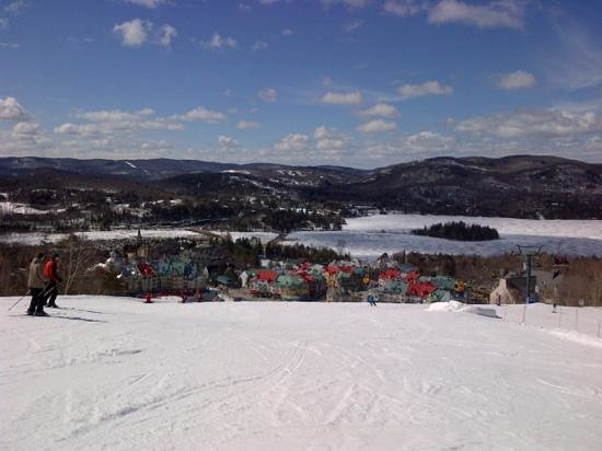 Homewood Suites Mont-Tremblant: view from the mountain