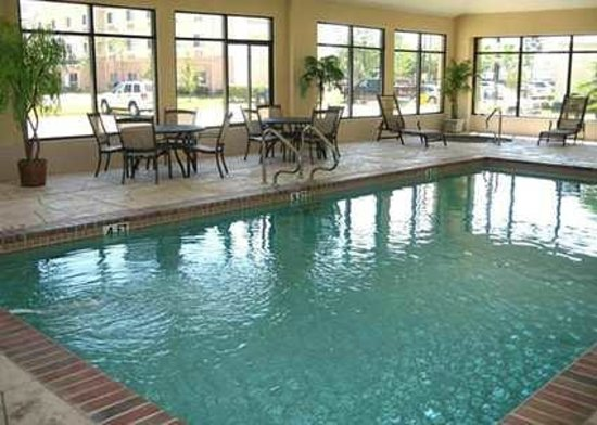 Indoor Pool And Whirlpool Picture Of Hampton Inn Suites