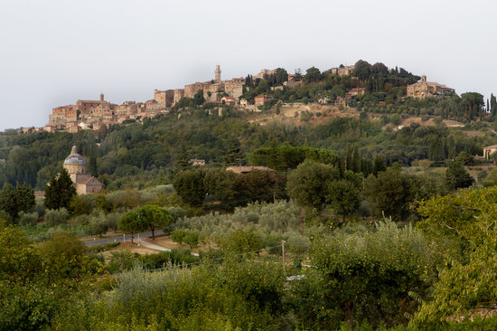 Relais Ortaglia: Montepulciano visto dal giardino