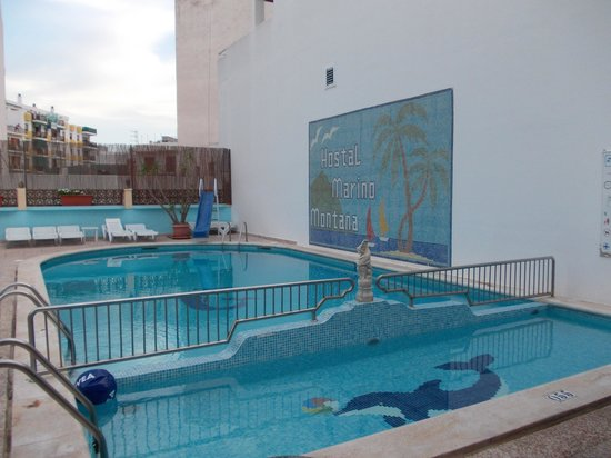 Hostal Marino: Gorgeous Swimming Pool