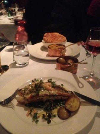 Hotel Indigo Birmingham: marco pierre white food :-)