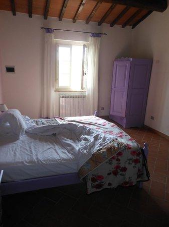Borgo Collelungo : una delle camere doppie