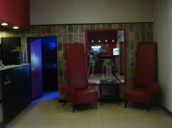 Hotel Rex: entrada