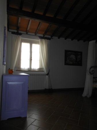 Borgo Collelungo: la terza camera da letto la più ampia e bella di tutte