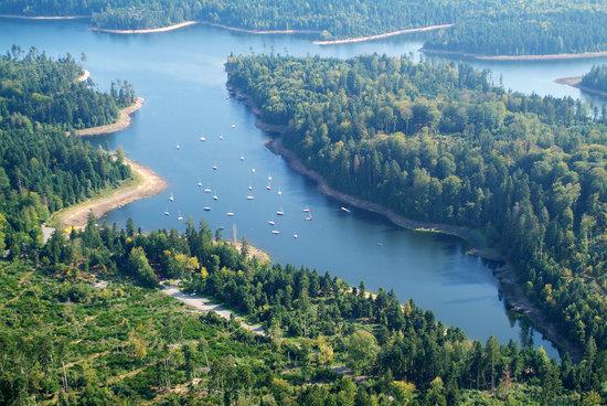 Camping des Lacs: le pays des lacs