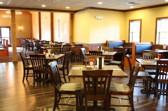 The Olde Mill Restaurant: A beautifully decorated dining room serves locals and visitors alike.