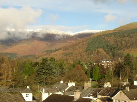 Hedgehog Hill: Snow capped Skiddaw