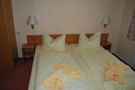 Du & Ich Harzhotel Guentersberge: Betten