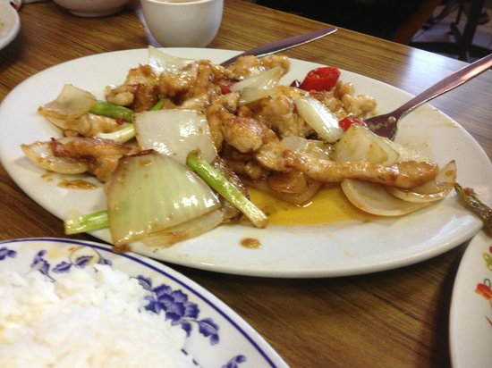 Thy Thy 1 Vietnamese Restaurant: lemon grass chicken